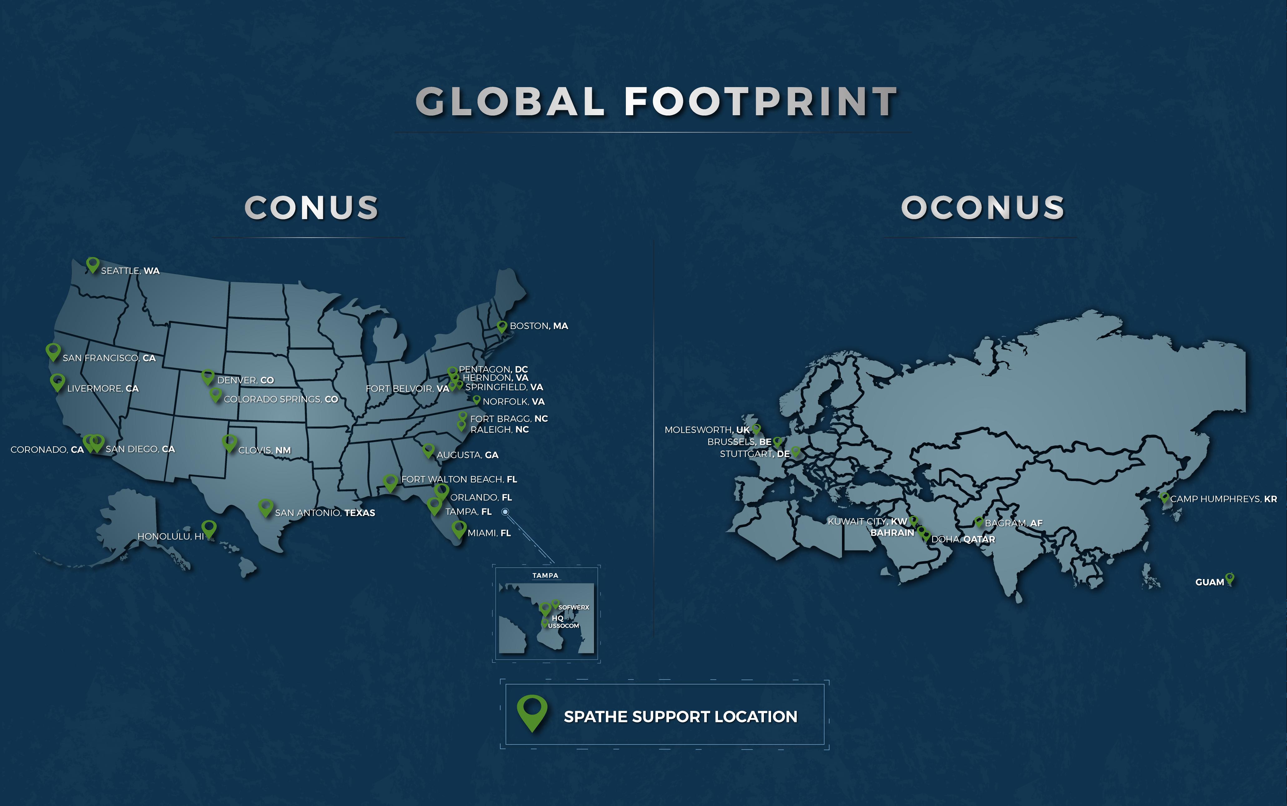 spathe, oconus, conus, global footprint, support, spathe support
