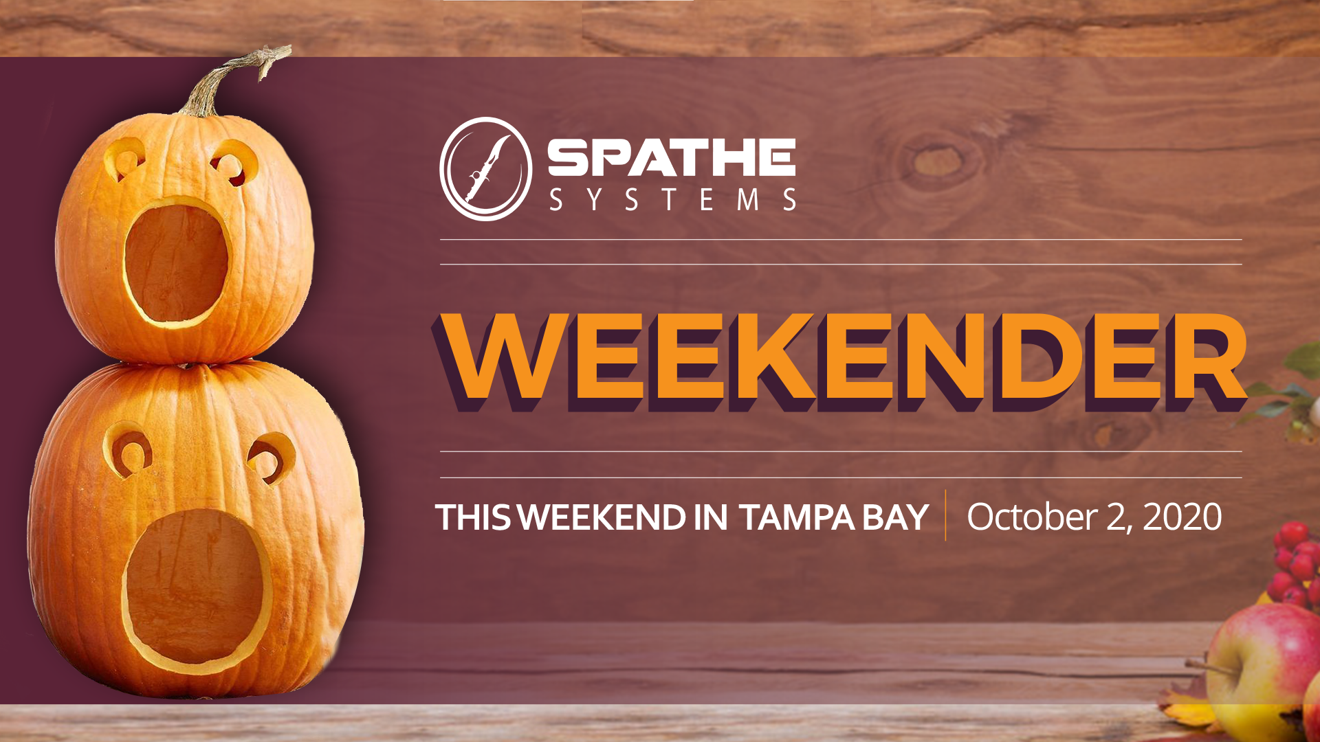 This Weekend in Tampa Bay (10/2/2020)