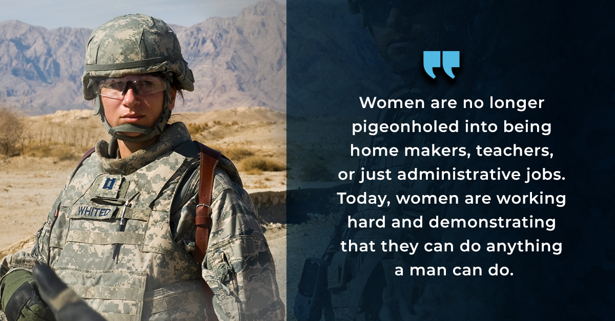 Terry Whited: An Outlook on Women's Contributions to Special Operations Forces